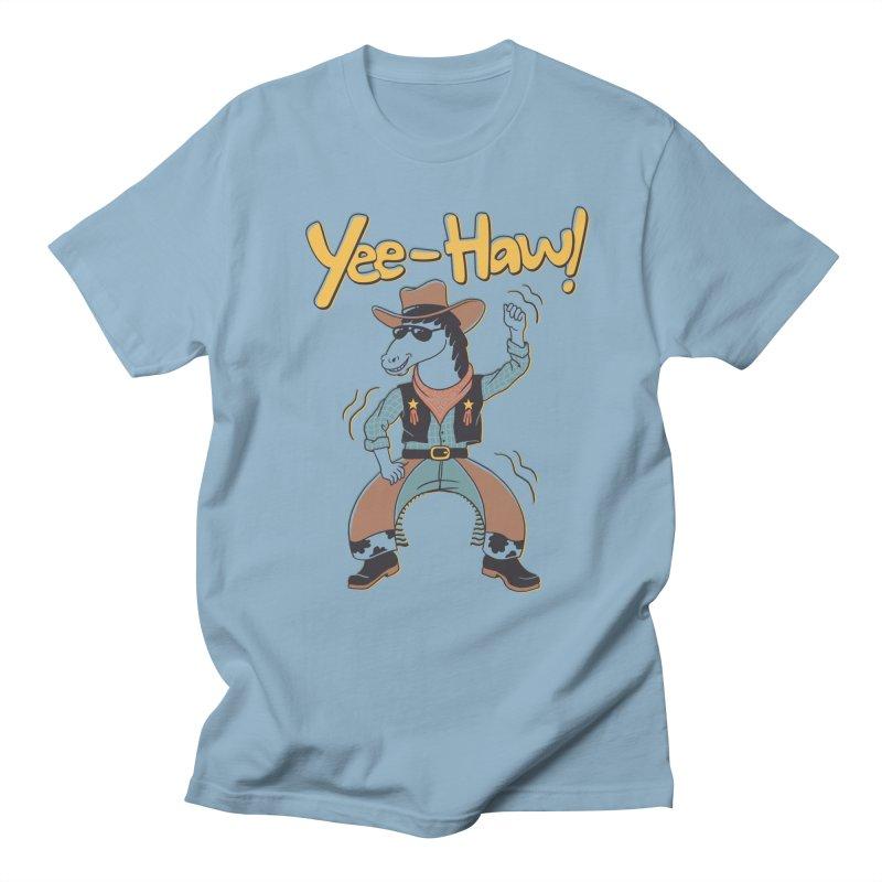 Horsing Around Men's Regular T-Shirt by Vincent Trinidad Art