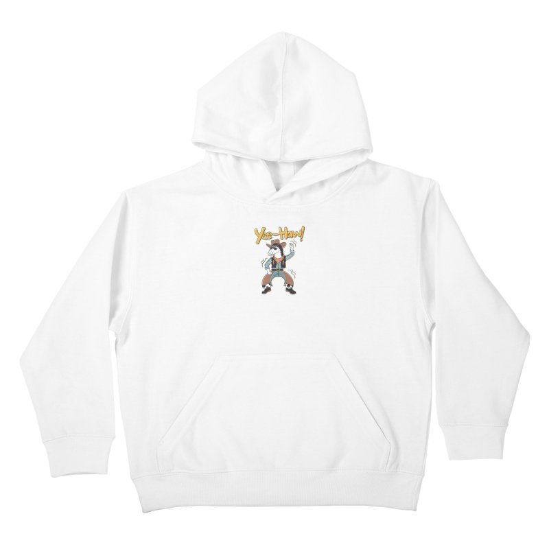 Horsing Around Kids Pullover Hoody by Vincent Trinidad Art