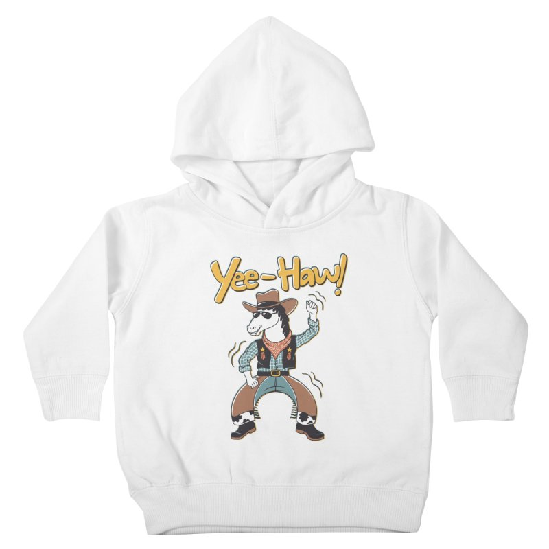 Horsing Around Kids Toddler Pullover Hoody by Vincent Trinidad Art