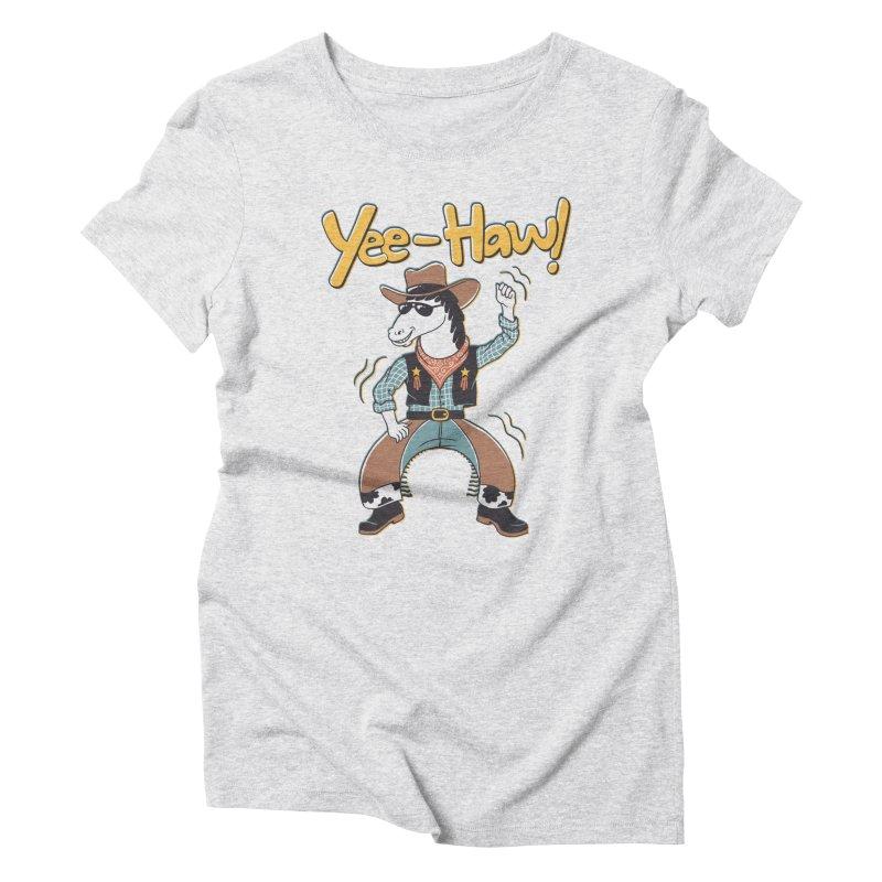 Horsing Around Women's Triblend T-Shirt by Vincent Trinidad Art