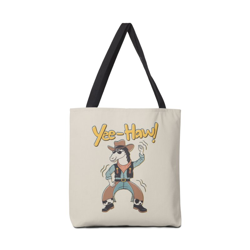 Horsing Around Accessories Tote Bag Bag by Vincent Trinidad Art