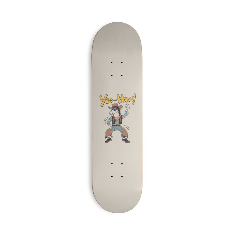 Horsing Around Accessories Deck Only Skateboard by Vincent Trinidad Art