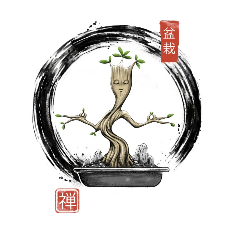 Bonsai Meditations by Vincent Trinidad Art