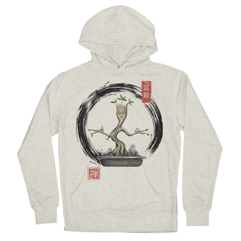 Bonsai Meditations Men's French Terry Pullover Hoody by Vincent Trinidad Art