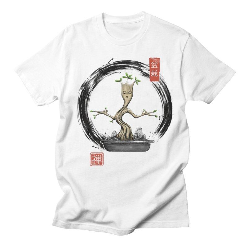 Bonsai Meditations Men's Regular T-Shirt by Vincent Trinidad Art