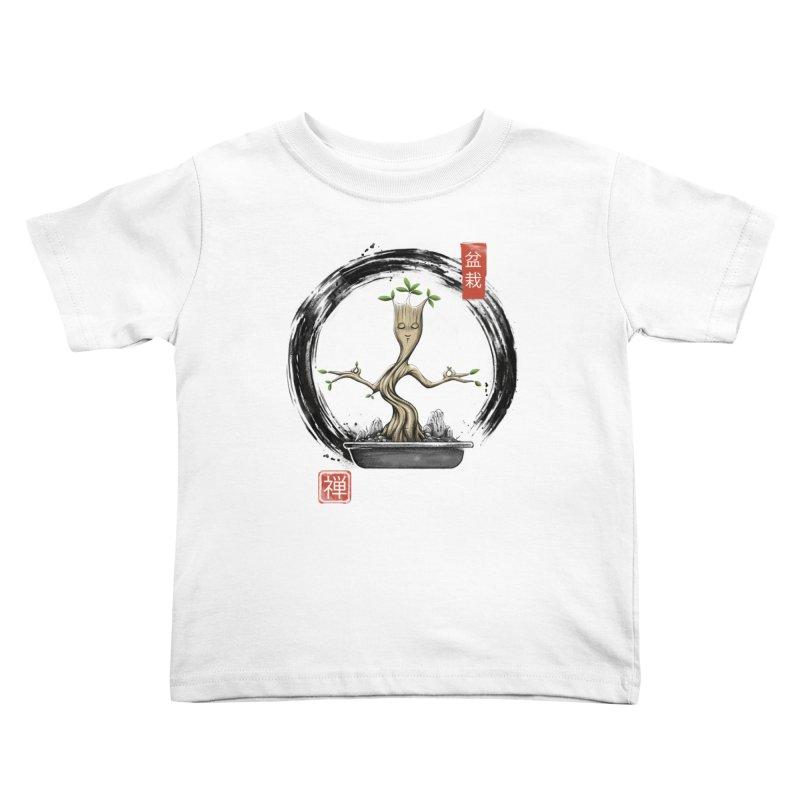 Bonsai Meditations Kids Toddler T-Shirt by Vincent Trinidad Art