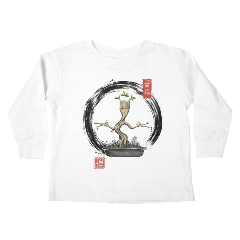 Bonsai Meditations Kids Toddler Longsleeve T-Shirt by Vincent Trinidad Art