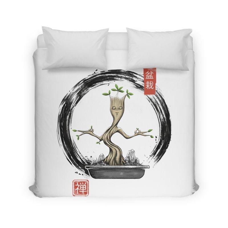 Bonsai Meditations Home Duvet by Vincent Trinidad Art