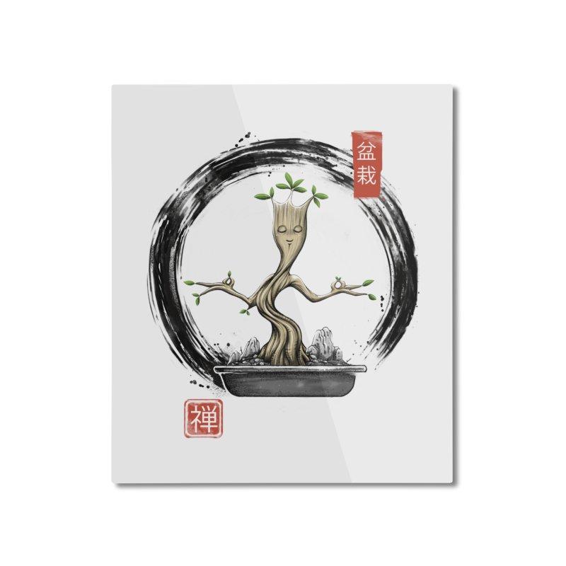 Bonsai Meditations Home Mounted Aluminum Print by Vincent Trinidad Art