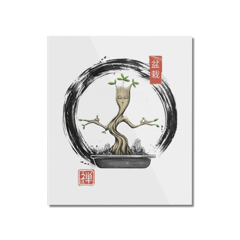 Bonsai Meditations Home Mounted Acrylic Print by Vincent Trinidad Art