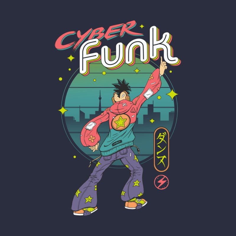 Cyber Funk! by Vincent Trinidad Art