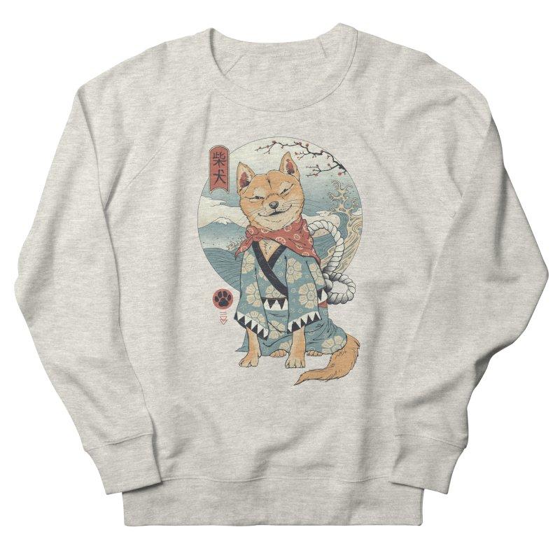 Shiba Inu Women's French Terry Sweatshirt by Vincent Trinidad Art