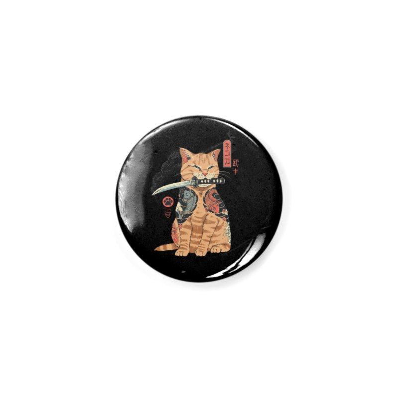 Catana Accessories Button by Vincent Trinidad Art