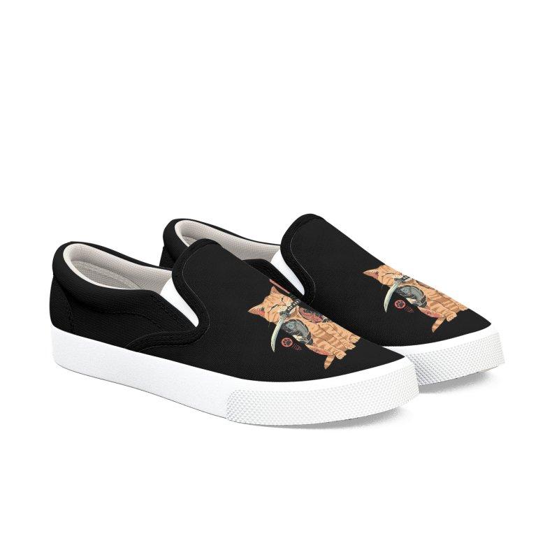 Catana Men's Shoes by Vincent Trinidad Art