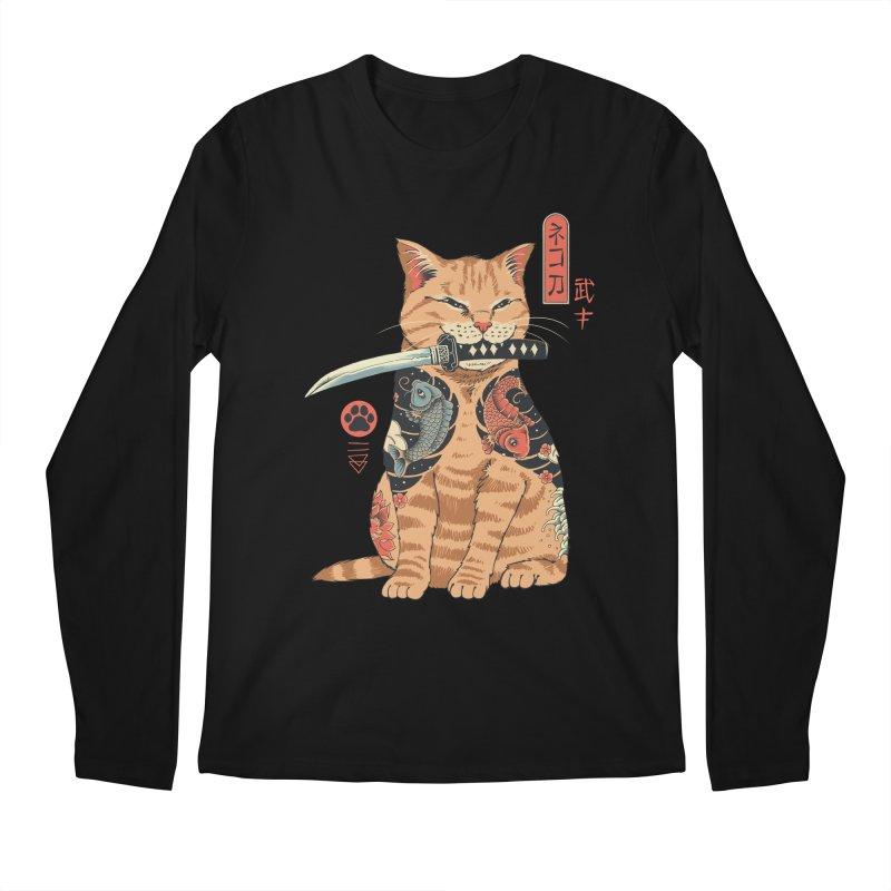 Catana Men's Longsleeve T-Shirt by Vincent Trinidad Art