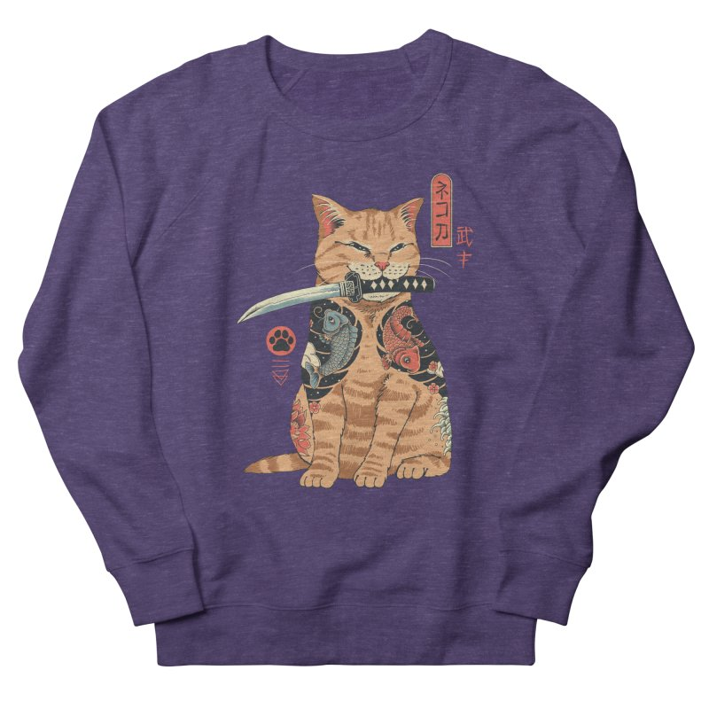 Catana Women's French Terry Sweatshirt by Vincent Trinidad Art