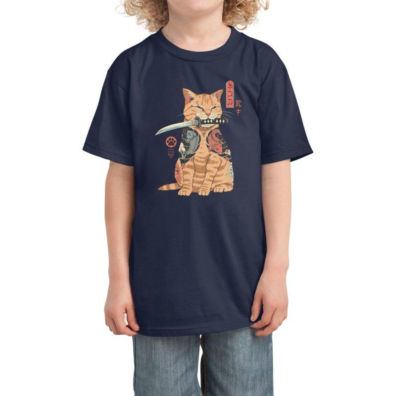 Catana Kids T-Shirt by Vincent Trinidad Art