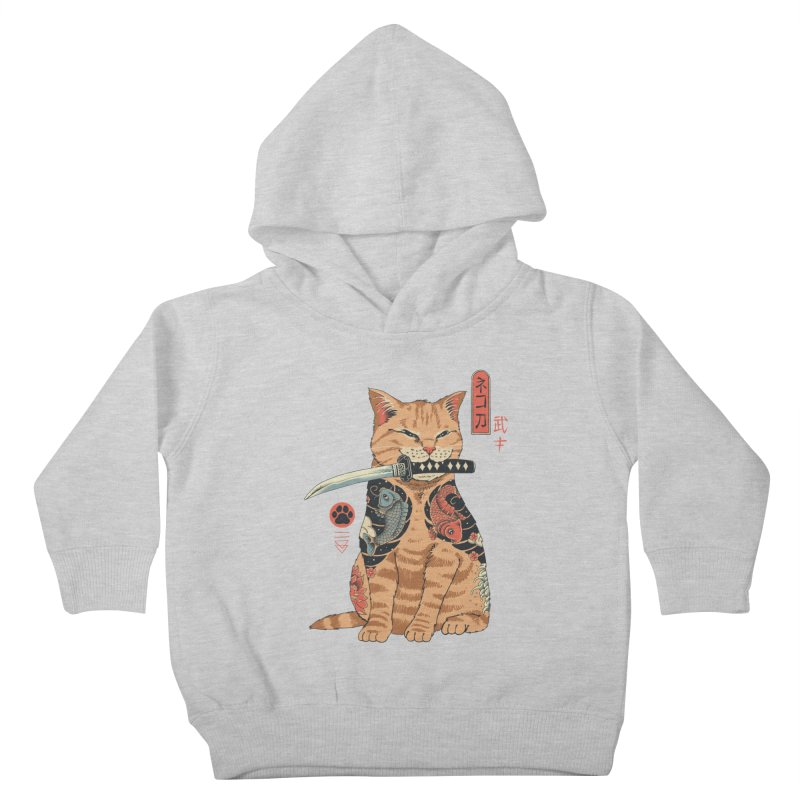 Catana Kids Toddler Pullover Hoody by Vincent Trinidad Art