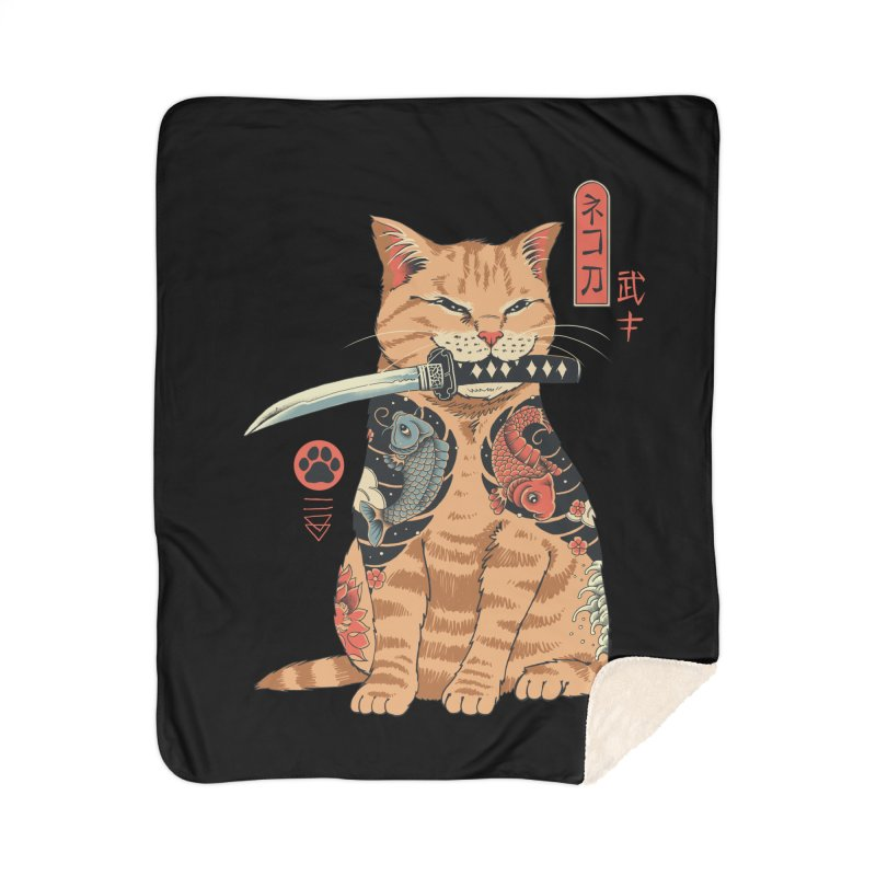 Catana Home Blanket by Vincent Trinidad Art