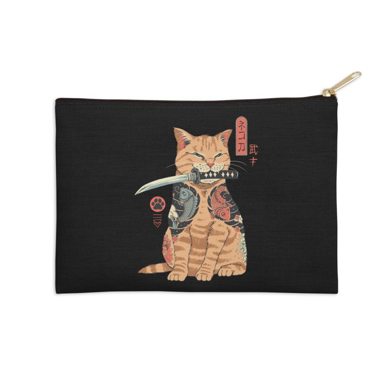 Catana Accessories Zip Pouch by Vincent Trinidad Art