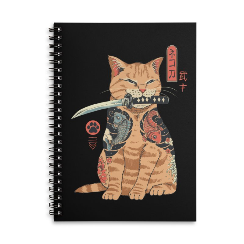 Catana Accessories Notebook by Vincent Trinidad Art