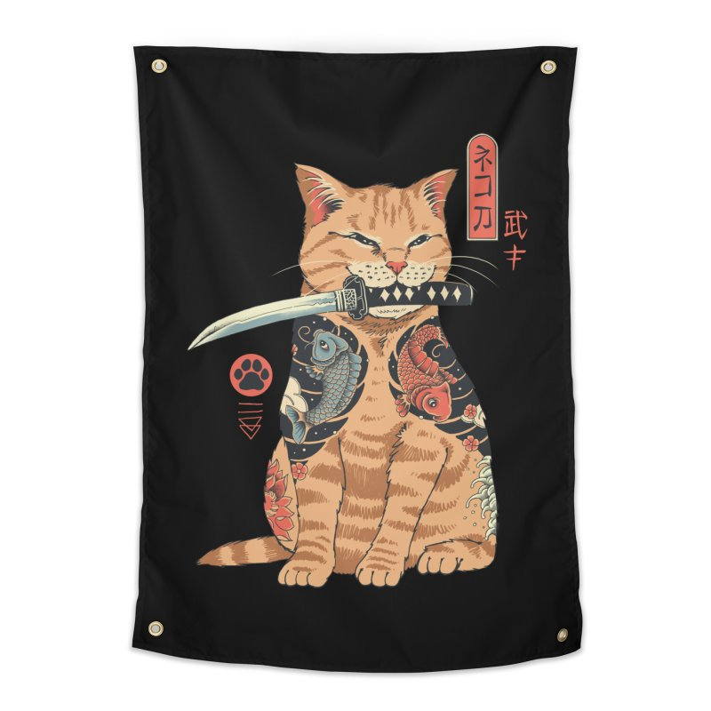 Catana Home Tapestry by Vincent Trinidad Art