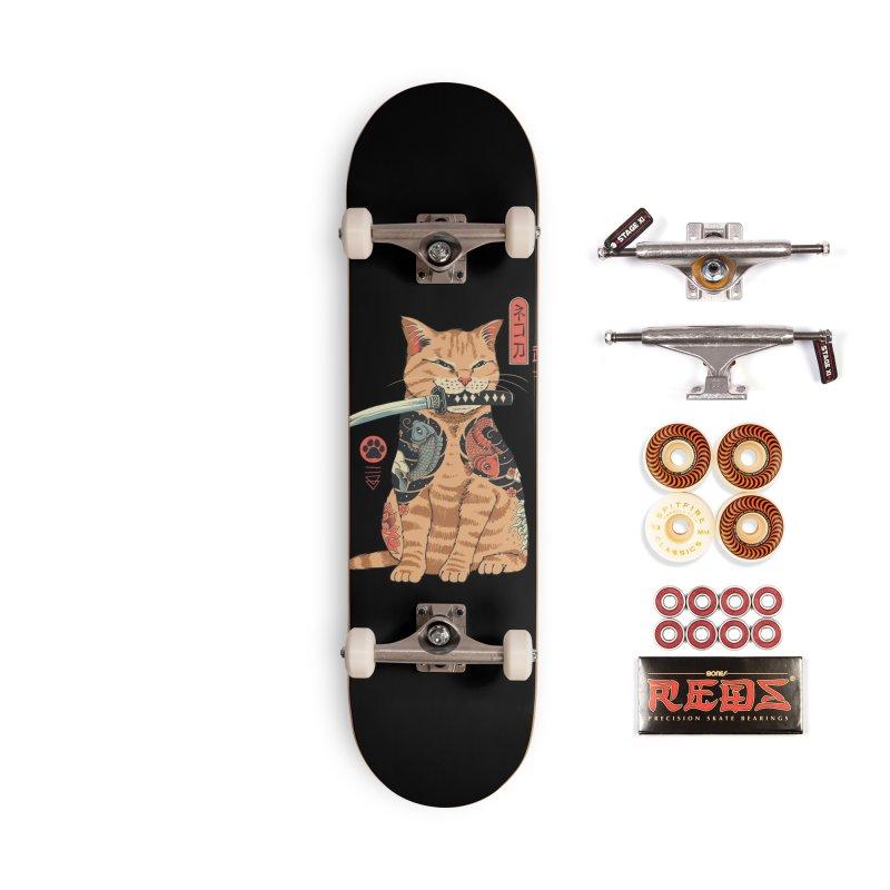 Catana Accessories Skateboard by Vincent Trinidad Art