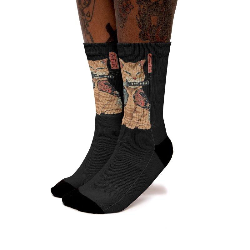 Catana Women's Socks by Vincent Trinidad Art