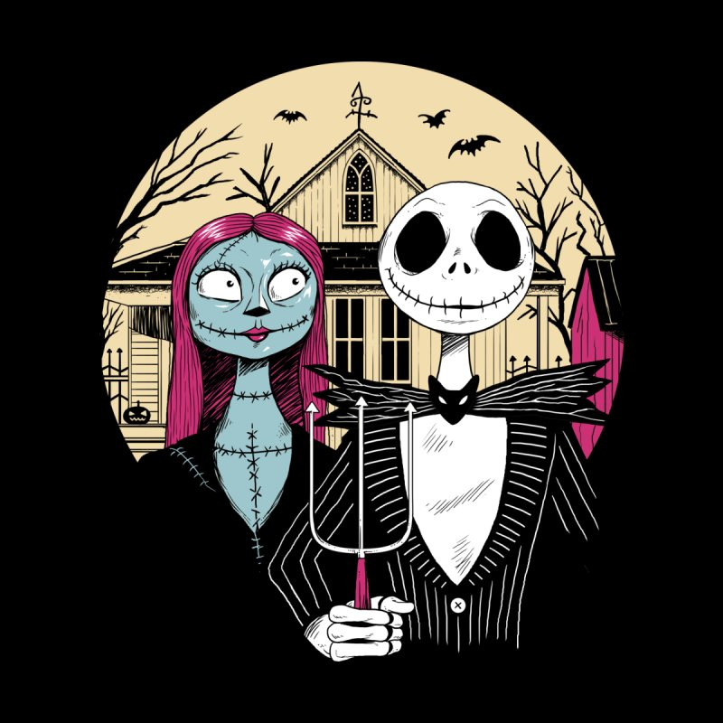 Nightmare Gothic Home Stretched Canvas by Vincent Trinidad Art