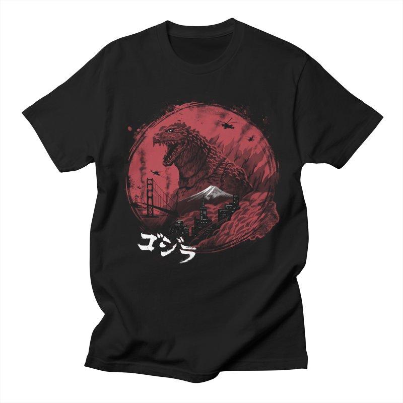 Zillageddon Men's Regular T-Shirt by Vincent Trinidad Art