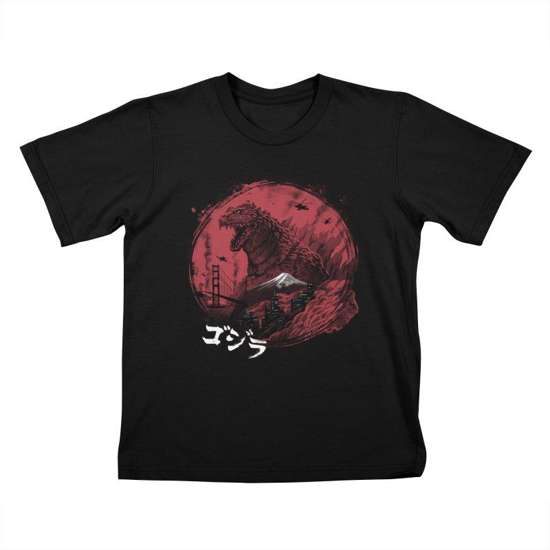 Zillageddon Kids T-Shirt by Vincent Trinidad Art