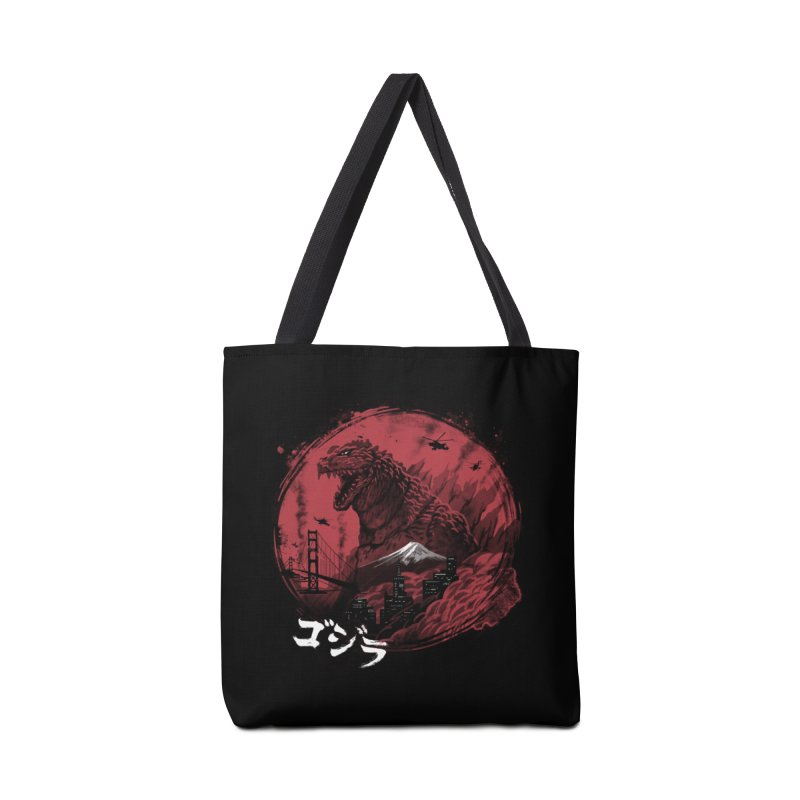 Zillageddon Accessories Tote Bag Bag by Vincent Trinidad Art