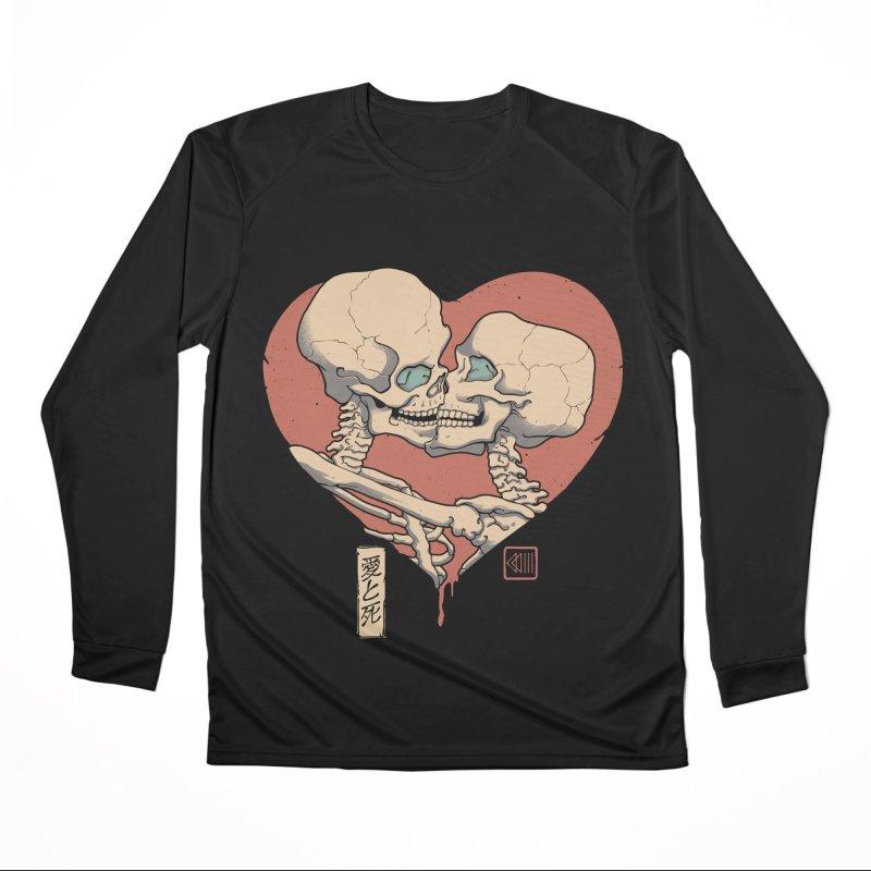 Till Death Do Us Part Women's Performance Unisex Longsleeve T-Shirt by Vincent Trinidad Art