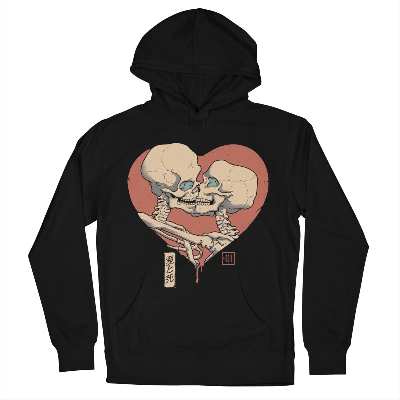 Till Death Do Us Part Men's French Terry Pullover Hoody by Vincent Trinidad Art