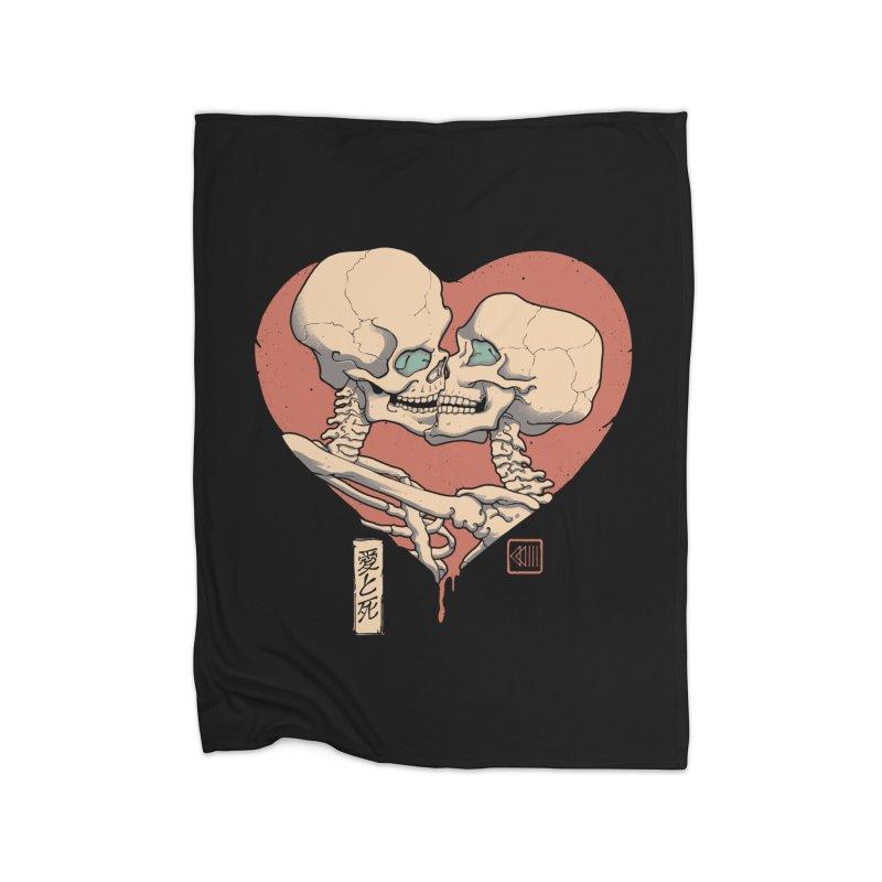 Till Death Do Us Part Home Fleece Blanket Blanket by Vincent Trinidad Art