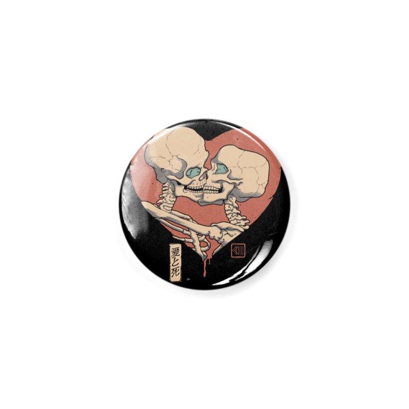 Till Death Do Us Part Accessories Button by Vincent Trinidad Art