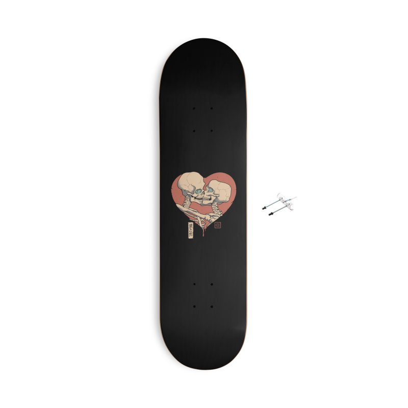 Till Death Do Us Part Accessories With Hanging Hardware Skateboard by Vincent Trinidad Art