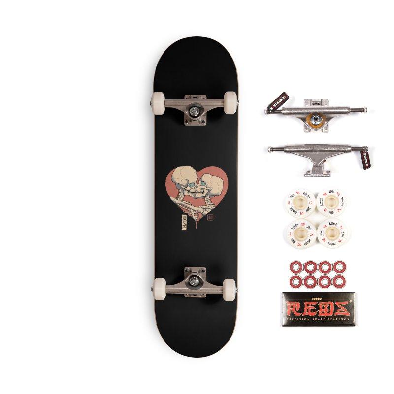 Till Death Do Us Part Accessories Complete - Pro Skateboard by Vincent Trinidad Art