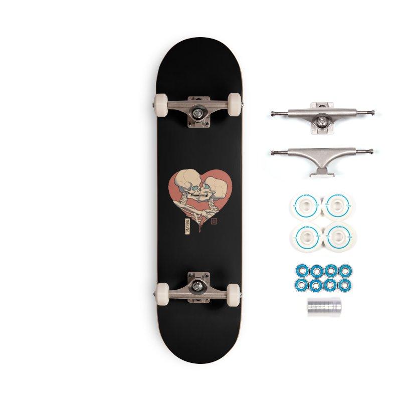 Till Death Do Us Part Accessories Complete - Basic Skateboard by Vincent Trinidad Art