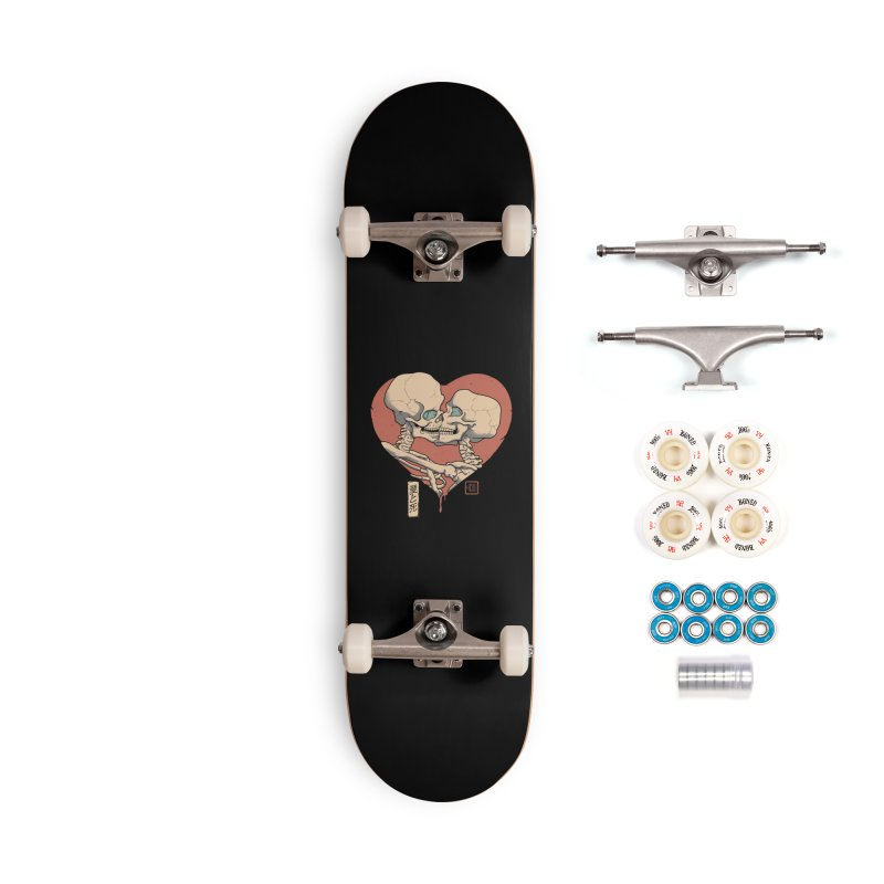 Till Death Do Us Part Accessories Complete - Premium Skateboard by Vincent Trinidad Art