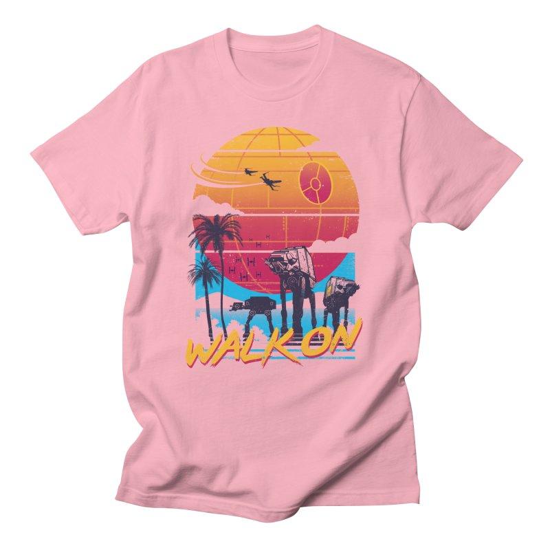 Walk On Men's Regular T-Shirt by Vincent Trinidad Art