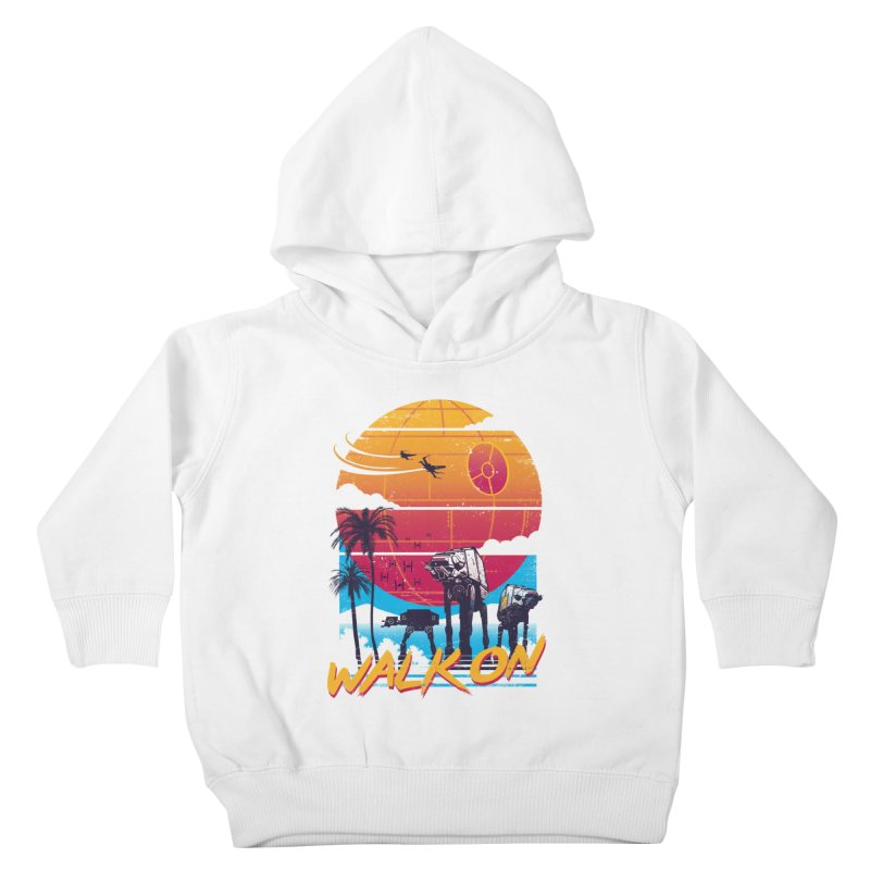Walk On Kids Toddler Pullover Hoody by Vincent Trinidad Art