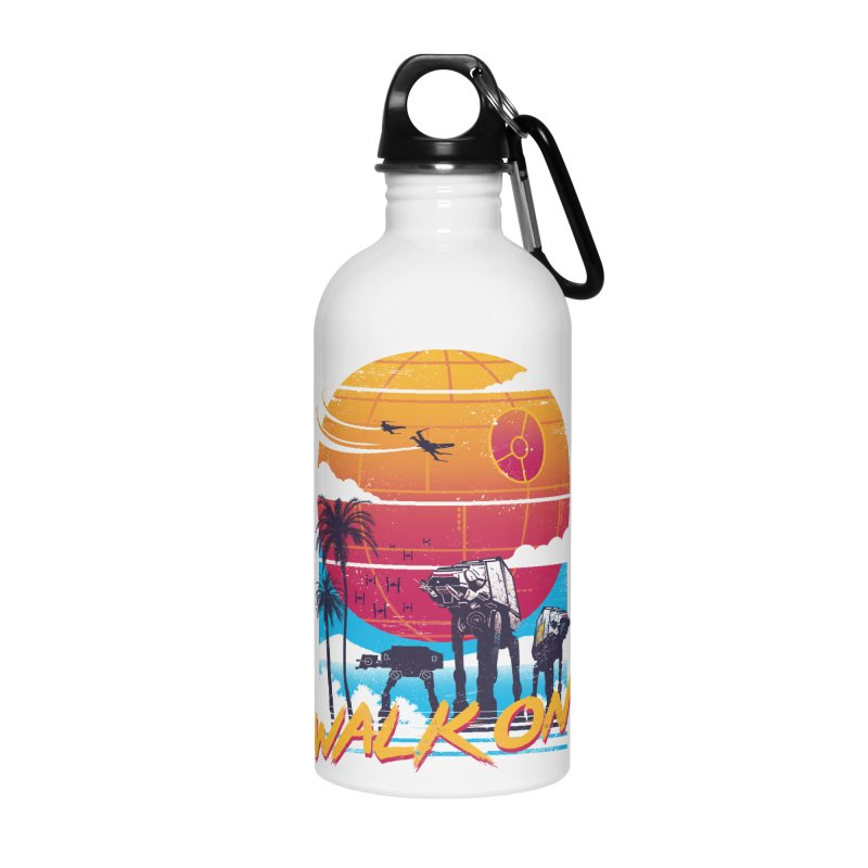 Walk On Accessories Water Bottle by Vincent Trinidad Art
