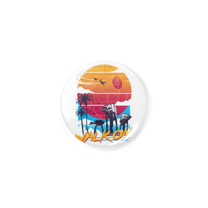 Walk On Accessories Button by Vincent Trinidad Art