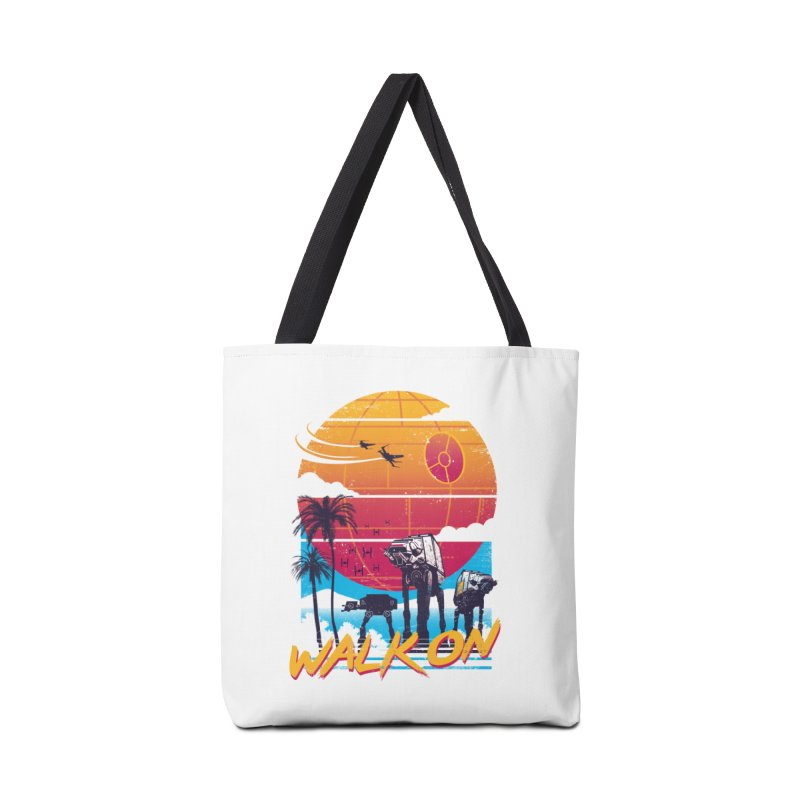 Walk On Accessories Tote Bag Bag by Vincent Trinidad Art