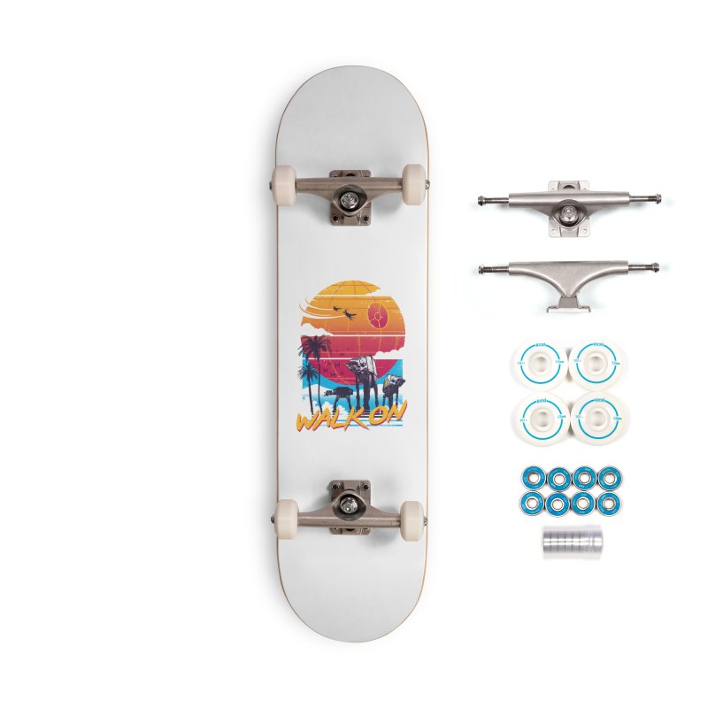 Walk On Accessories Complete - Basic Skateboard by Vincent Trinidad Art