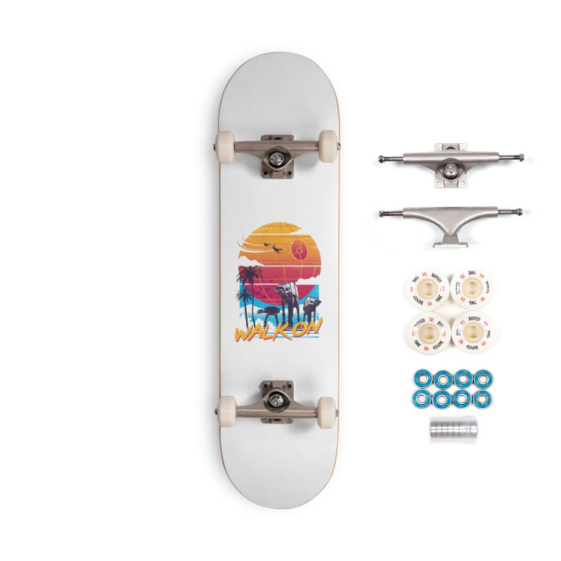 Walk On Accessories Complete - Premium Skateboard by Vincent Trinidad Art