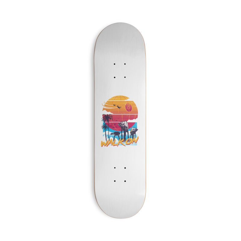 Walk On Accessories Deck Only Skateboard by Vincent Trinidad Art