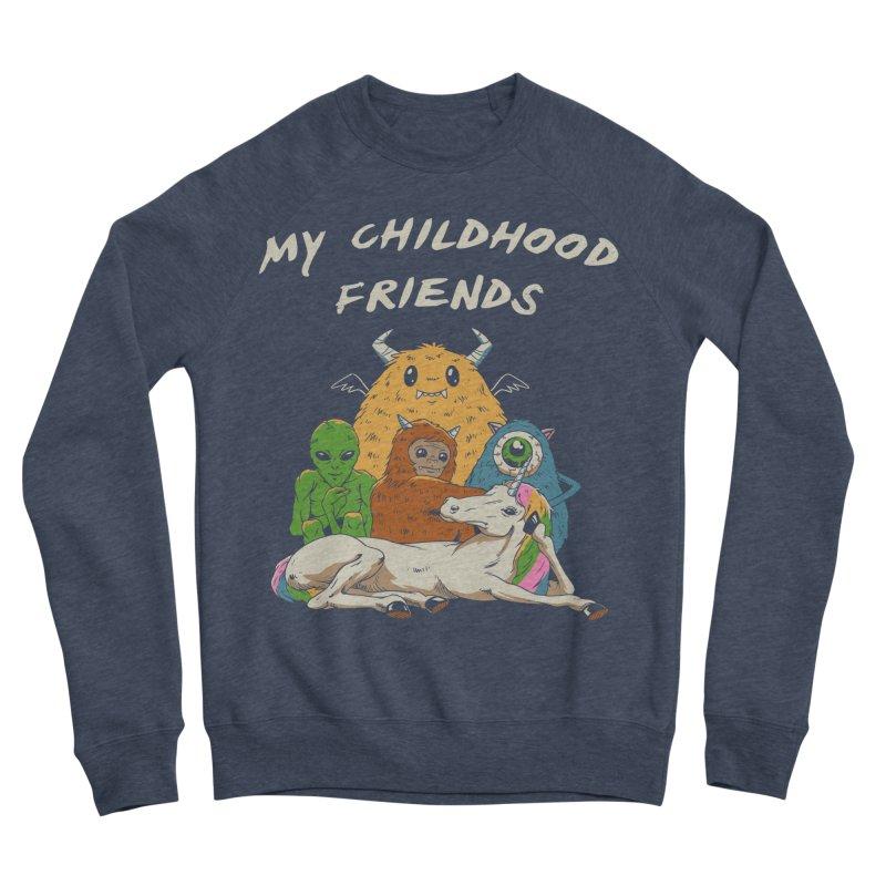 Imaginary Friends Club Women's Sponge Fleece Sweatshirt by Vincent Trinidad Art