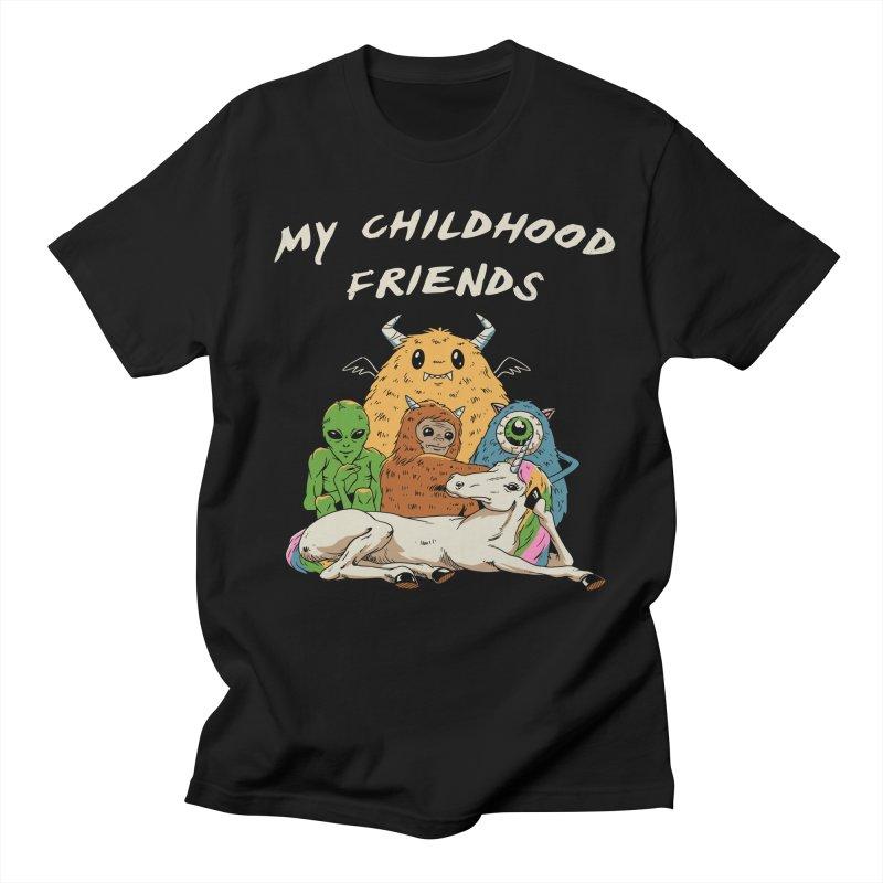 Imaginary Friends Club Men's Regular T-Shirt by Vincent Trinidad Art